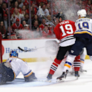 St. Louis Blues v Chicago Blackhawks - Game Six Getty Images