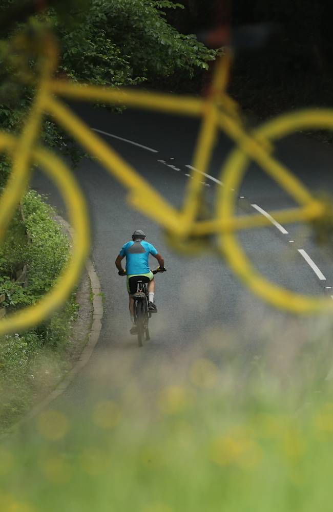 Yorkshire Prepares To welcome The First Stage Of The Tour De France