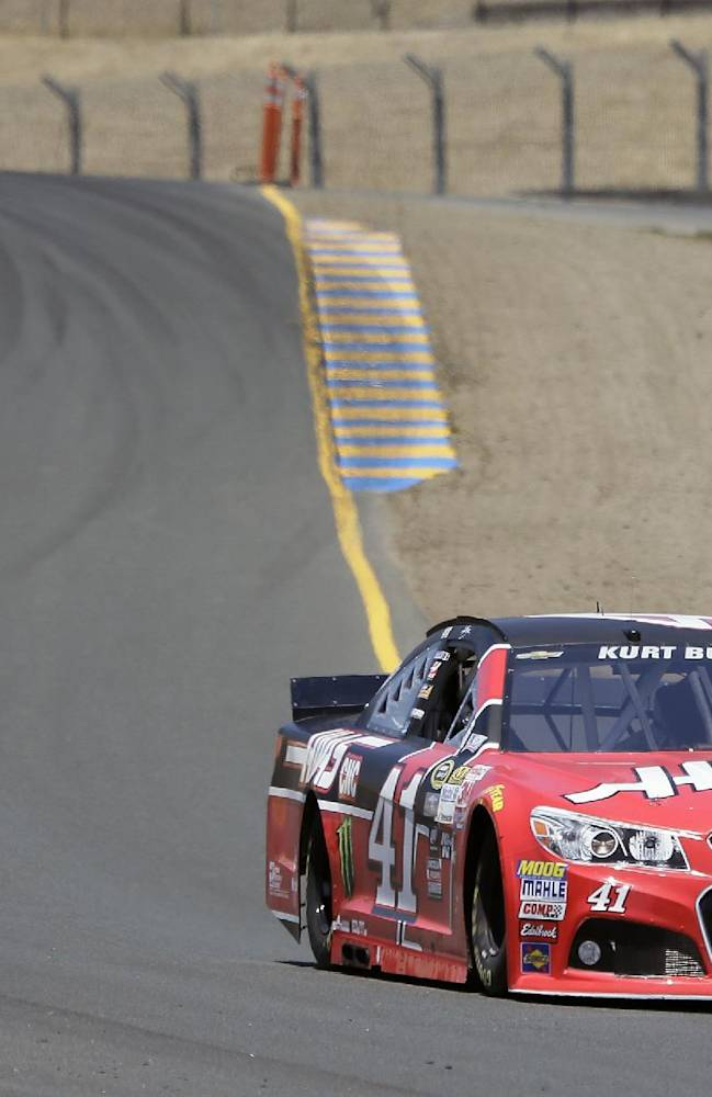 Allmendinger wins pole for road course race at Sonoma