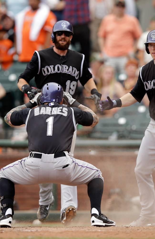 Colorado Rockies v San Francisco Giants