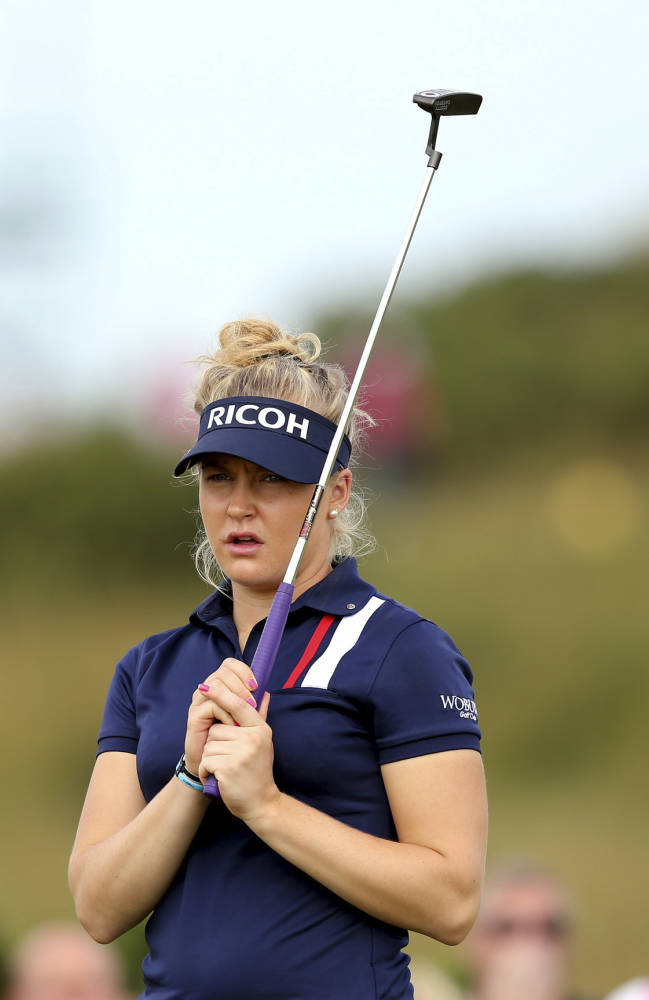 Charley Hull back in the mix with a 66
