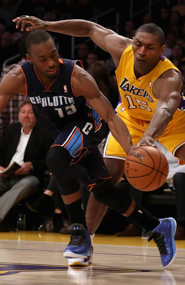 Charlotte Bobcats v Los Angeles Lakers