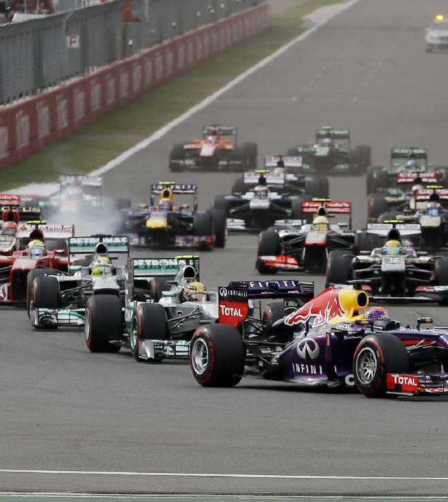 Vettel wins F1 Korean Grand Prix