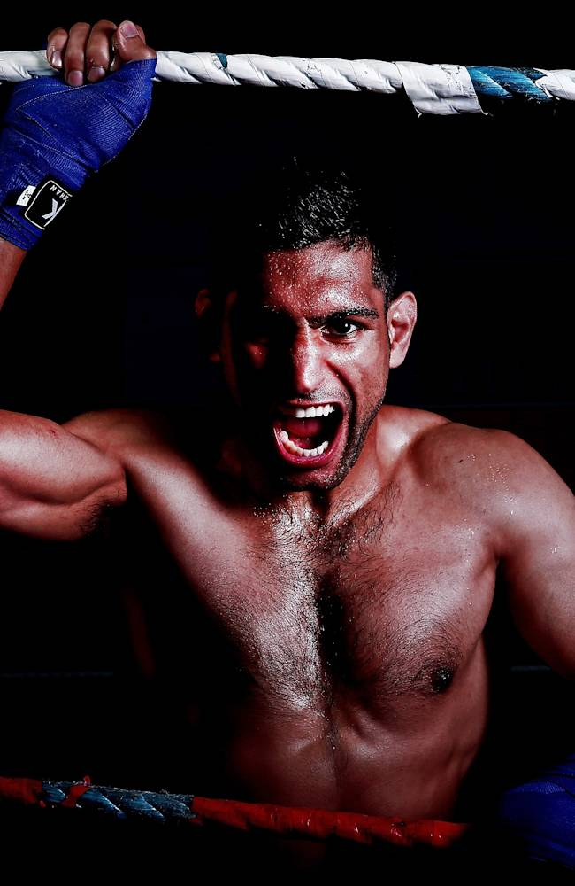 Amir Khan Photo Shoot