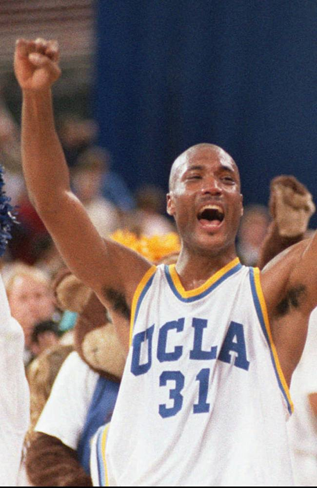 Ex-UCLA star selling cars, taking on NCAA over pay
