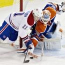 Scrivens, Pouliot lead Oilers over Canadiens 3-0 The Associated Press