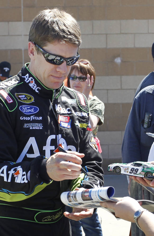 Nobody talking about Carl Edwards' future