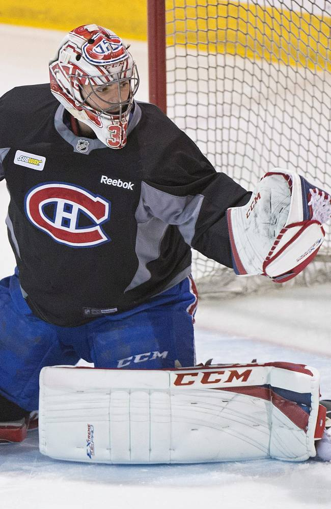 Canadiens busy preparing for Bruins in next round