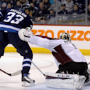 Perreault, Byfuglien lead Jets past Avalanche 5-3 The Associated Press