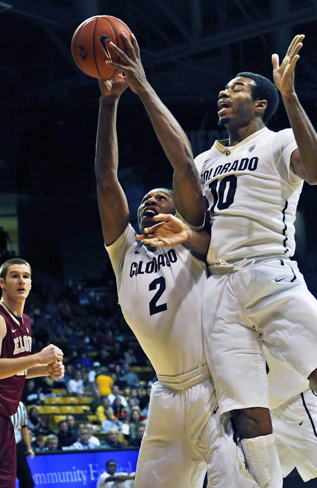 Dinwiddie leads No. 21 Colorado past Elon 80-63