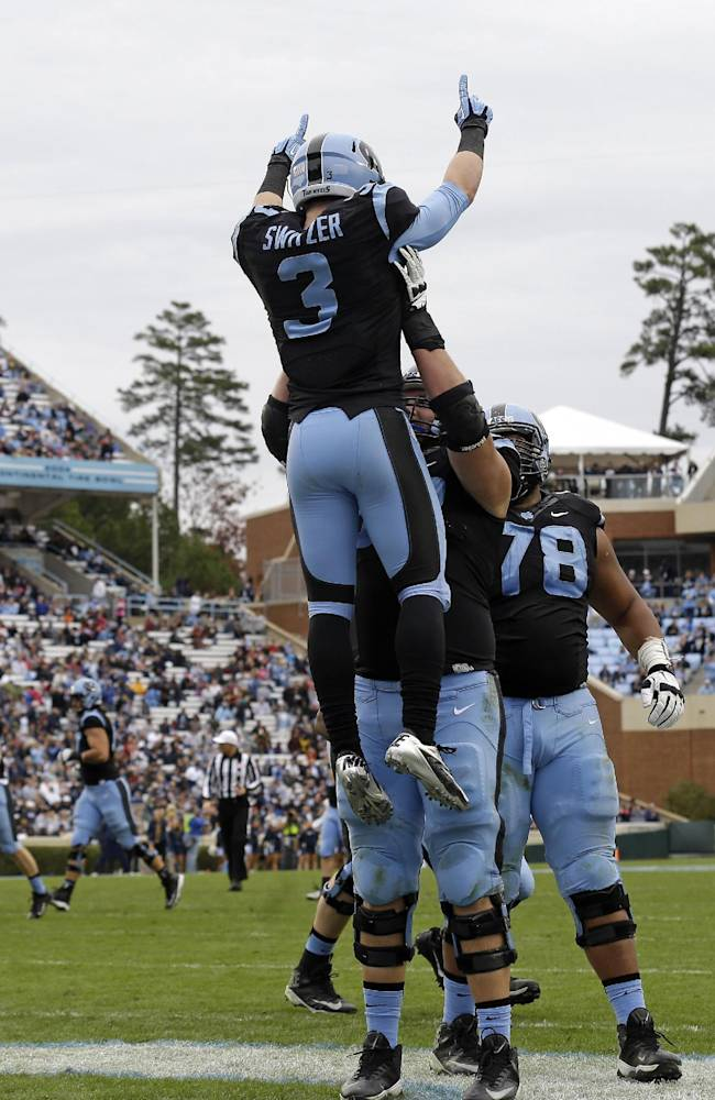 UNC's Switzer emerges as dangerous returner