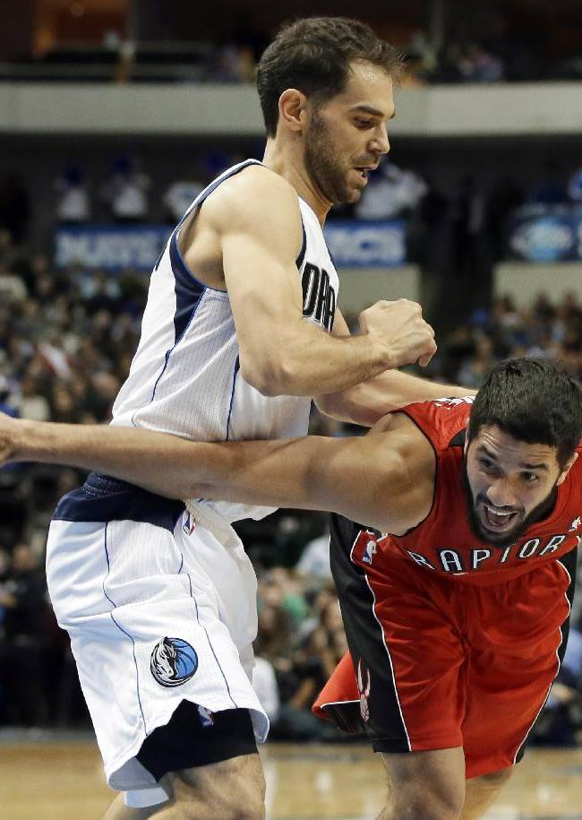 DeRozan, Raptors get OT win over Mavs, Calderon
