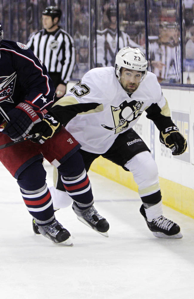 Neal has 3 goals, 2 assists as Pens beat CBJ, 5-3