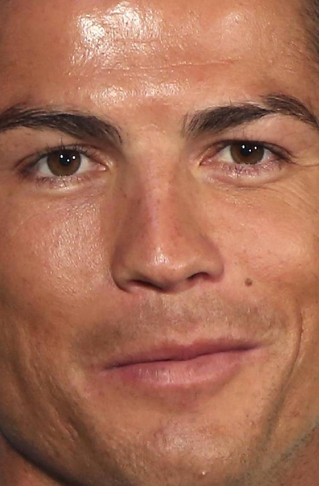 Soccer star player Cristiano Ronaldo attends a promotional event titled