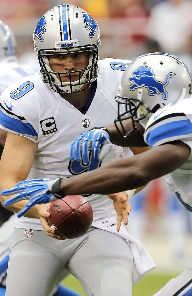 Lions QB Matthew Stafford off to a hot start