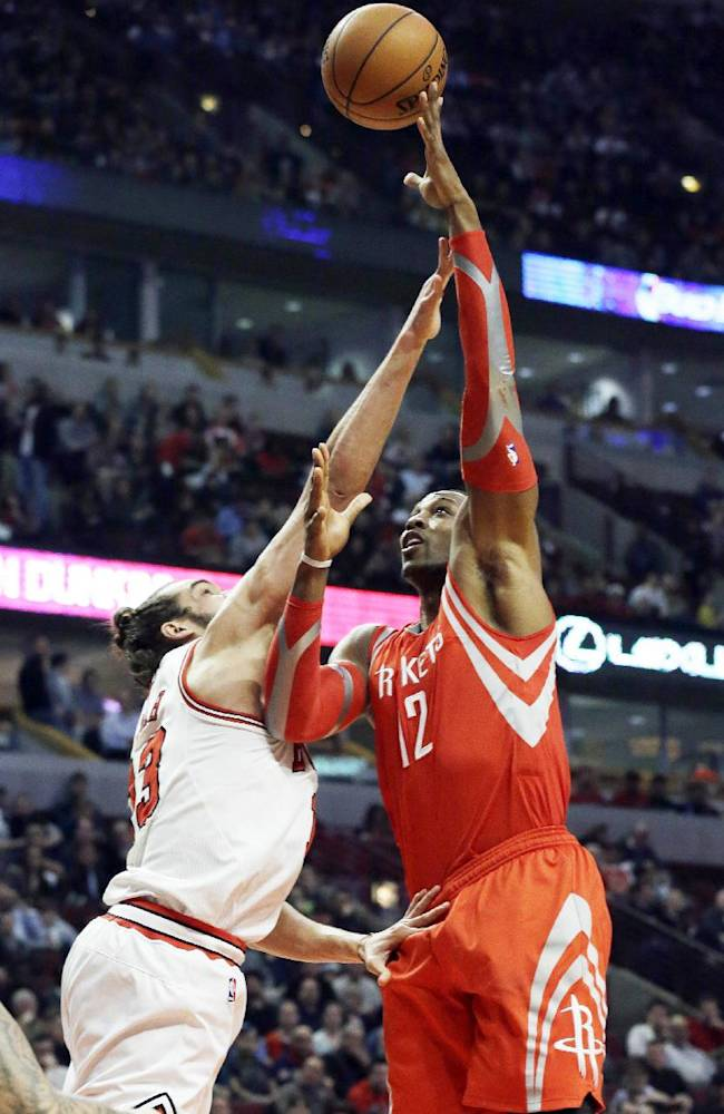 Dunleavy, Noah lead Bulls over Rockets 111-87