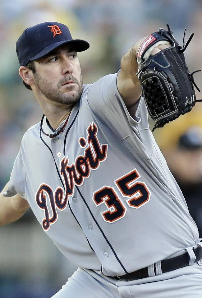 Verlander gets ball for Game 5 against A's again