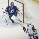 The Latest: Bishop takes shutout streak to 100 minutes The Associated Press