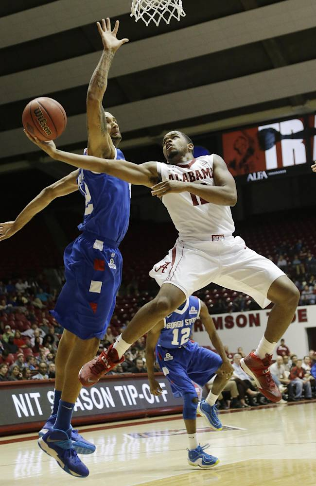 Alabama defeats Georgia State 75-58