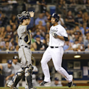 Ross, Almonte lead Padres to 4-1 win over Brewers The Associated Press