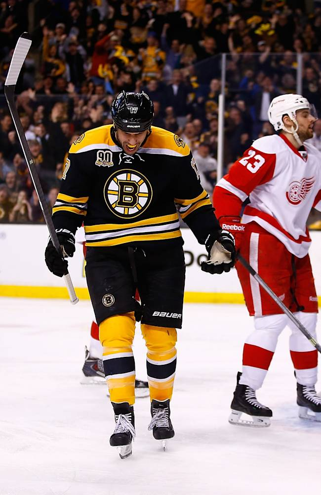 Detroit Red Wings v Boston Bruins - Game Five