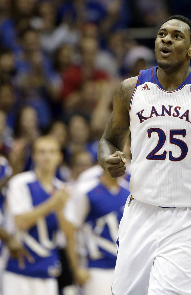 Black, Embiid lead No. 18 Kansas past Hoyas 86-64