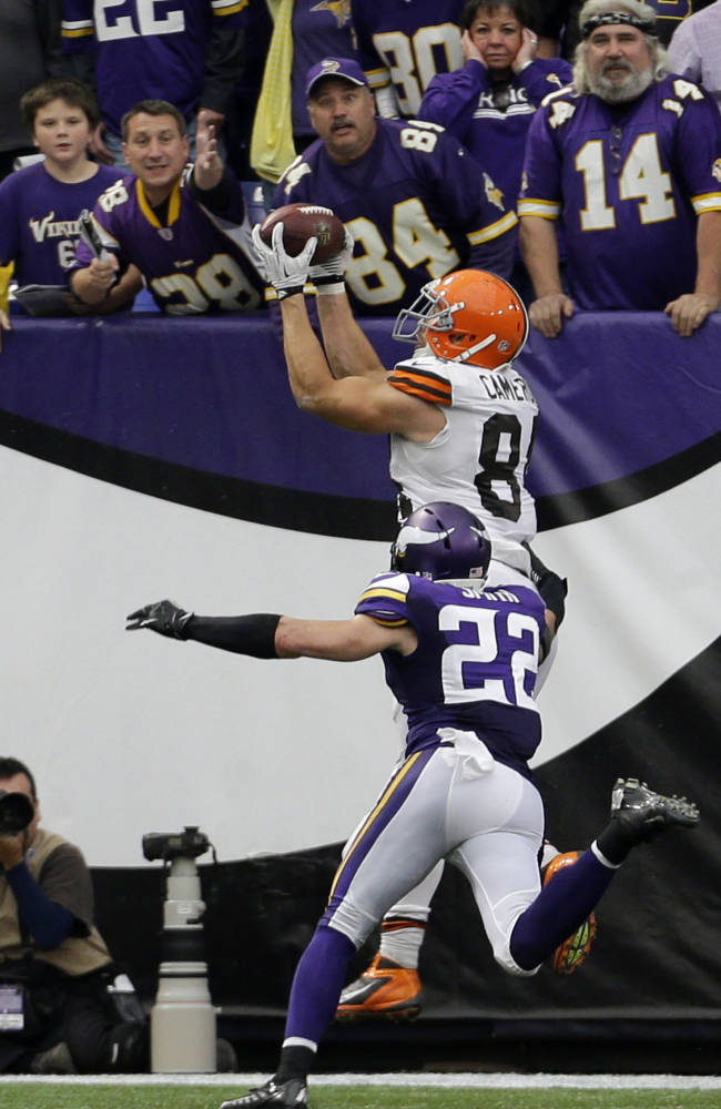 Browns TE Cameron catching on as playmaker