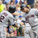 Brantley homers with 4 RBIs as Indians top Brewers 7-5 The Associated Press