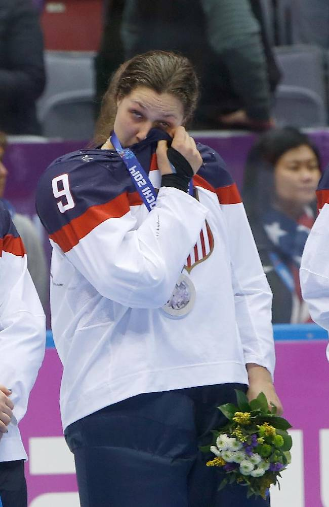 Day after collapse, US women try to enjoy silver