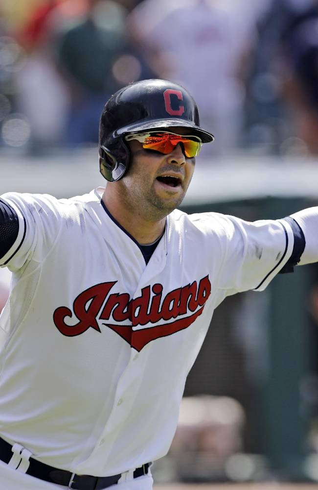 Swisher's grand slam in 10th gives Indians 5-3 win