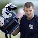Tennessee Titans quarterback Jake Locker walks to the locker room after practice during NFL football training camp Wednesday, Aug. 13, 2014, in Nashville, Tenn The Associated Press