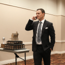 Calgary's Jiri Hudler ditches shoes, wins Lady Byng Trophy The Associated Press