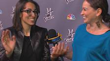 'The Voice': Michelle Chamuel Discusses Mirror Trick