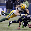 Green Bay Packers' Clay Matthews sacks Seattle Seahawks' Russell Wilson (3) during the second half of the NFL football NFC Championship game Sunday, Jan. 18, 2015, in Seattle The Associated Press