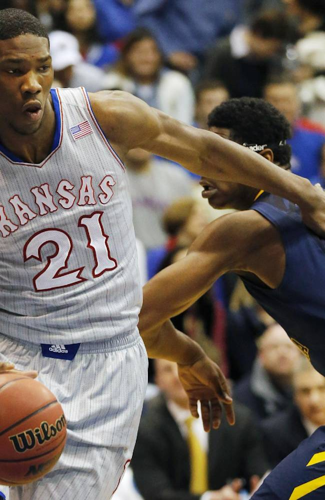 Kansas freshman Embiid dealing with ailments