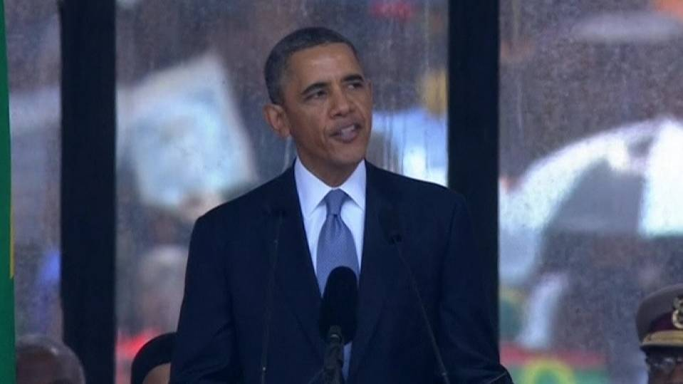Obama says Mandela 'moved a nation toward justice'