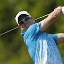 Zach Johnson of the U.S. tees off on the second hole during the second round of The Players Championship PGA golf tournament at TPC Sawgrass in Ponte Vedra Beach, Florida May 10, 2013. REUTERS/Chris Keane