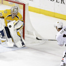 Neal's hat trick lifts Predators past Chicago 3-2 The Associated Press