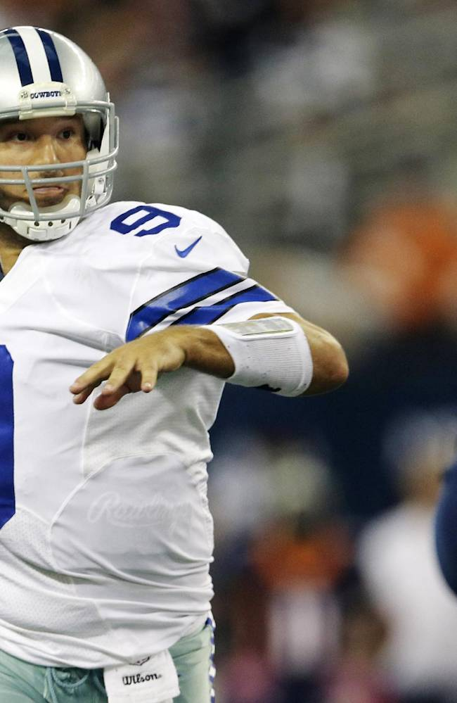 Cowboys rally behind Romo after late-game gaffe