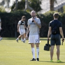 LA Galaxy to Introduce Ashley Cole and Jelle Van Damme Getty Images