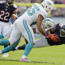 Tannehill leads Dolphins past Bears 27-14 The Associated Press