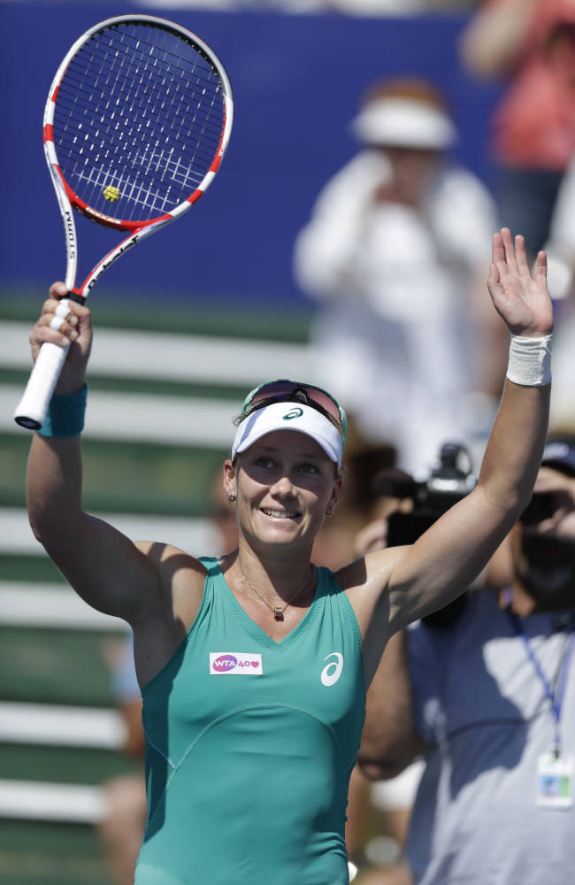 Stosur beats top-seeded Azarenka in Carlsbad final