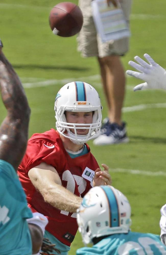 Tannehill has 191 yards, TD during scrimmage