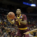 Arizona State guard Jahii Carson (1) drives to the basket during the first half of a second round NCAA college basketball tournament game against the Texas Thursday, March 20, 2014, in Milwaukee The Associated Press