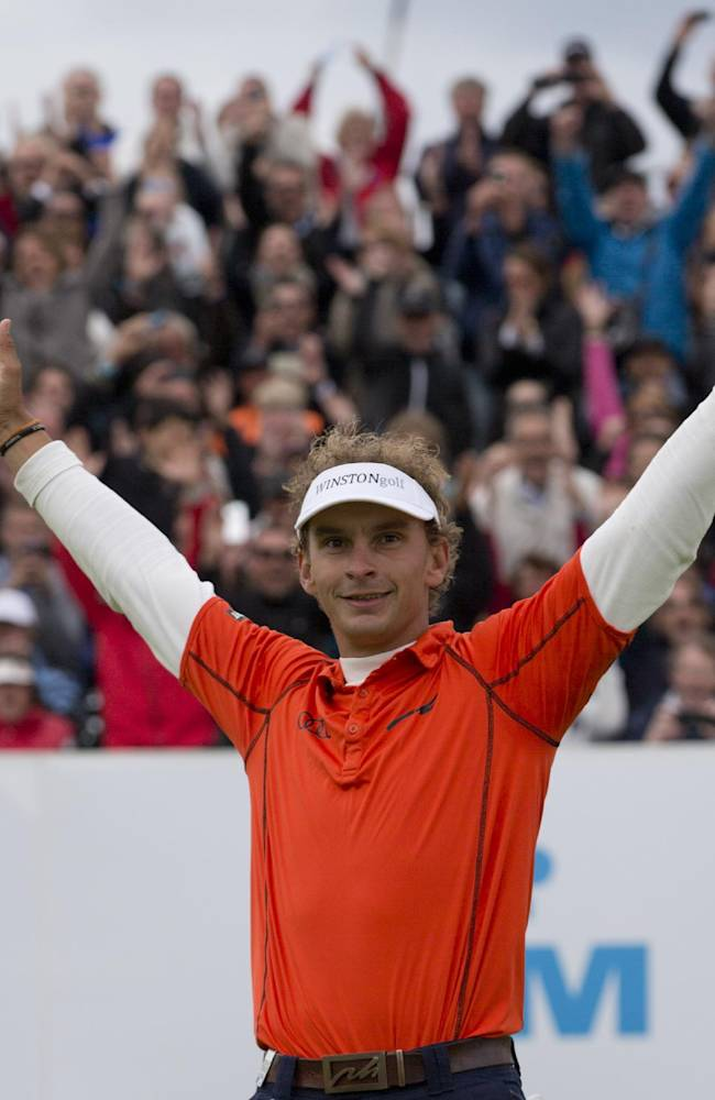 Joost Luiten wins KLM Open in playoff with Jimenez