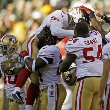 49ers' Akers ties NFL record