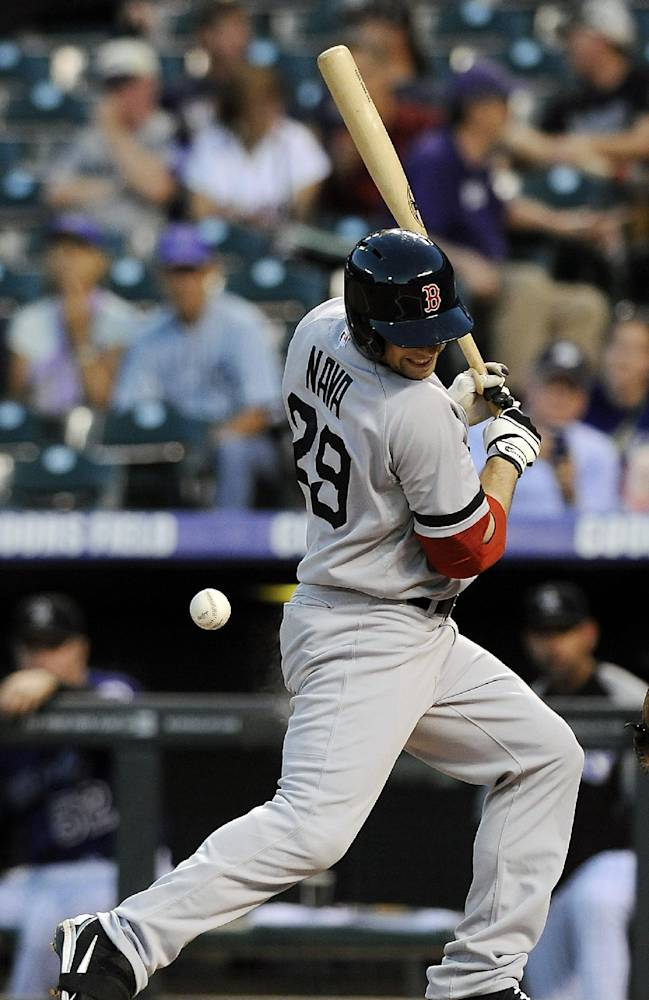 Red Sox fall 8-3 to Rockies as Lackey struggles