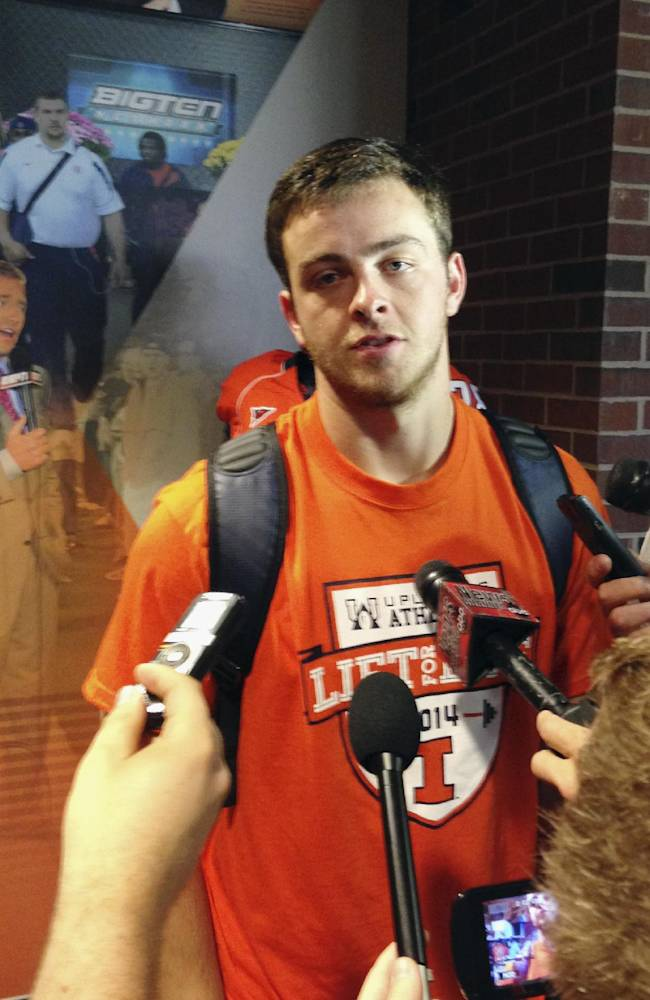 Illini hope weapons around Lunt an upgrade on 2013