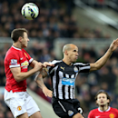 Evans issues denial, Cisse apology after spitting incident (The Associated Press)