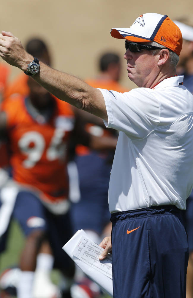 Texans, Broncos to hold joint practices in August